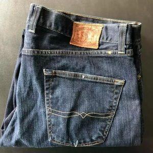 Lucky Brand 221 Original Straight Jeans 40 X 32